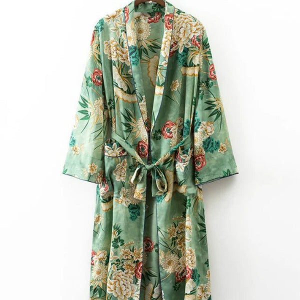 2 pieces Kimono and Trousers Homewear