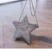 Star Rhinestone Clutch