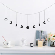 Load image into Gallery viewer, Moon Phases Thread Wall Decor
