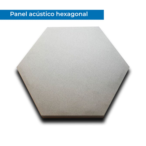 Panel Hexagonal de Tela Acústica