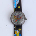 2D AIRPLANE CARTOON WATCH C1018 FOR KIDS