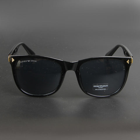 Black New Shape 001 EA Sunglasses - Thebuyspot.com