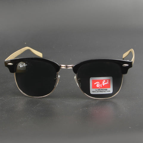 Black Shade R1051 Golden Stripe Sunglasses - Thebuyspot.com