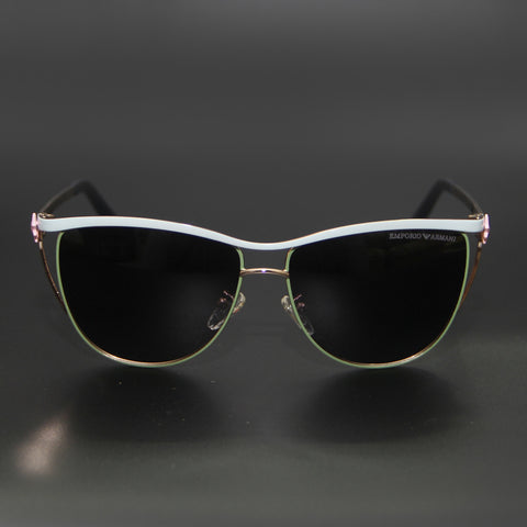 Black Shade White Frame 2022 Sunglasses - Thebuyspot.com