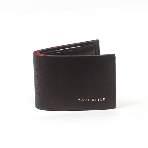 Black  D1107 Leather Wallet