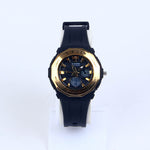 Black Strap Black/Golden Dial C1068 Kids Watch