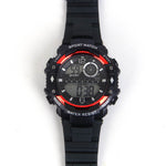Black Strap Digital Sports C1094 Kids Watch