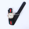 Black Strap Golden Dial 1322 Women's Wrist Watch