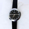 Black Strap Silver Dial 1326 Women's Wrist Watch