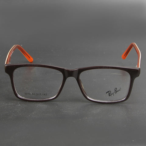 Brown And Orange Stripes R 5018 Eyeglasses - Thebuyspot.com
