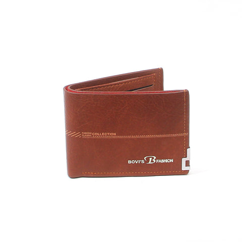 Brown  B1104 Leather Wallet - Thebuyspot.com