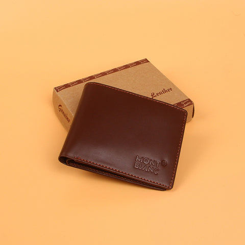 Brown New Designer Leather Wallet