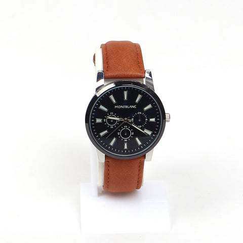 Brown Strap 1153 Men's Wrist watch