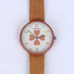 Brown Strap 1286 Women's Wrist Watch