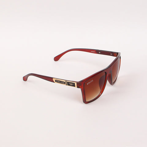 Brown XH6301 Brown Frame Sunglasses