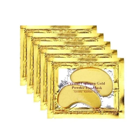 Gold Powder Crystal Collagen Eye Mask - Thebuyspot.com