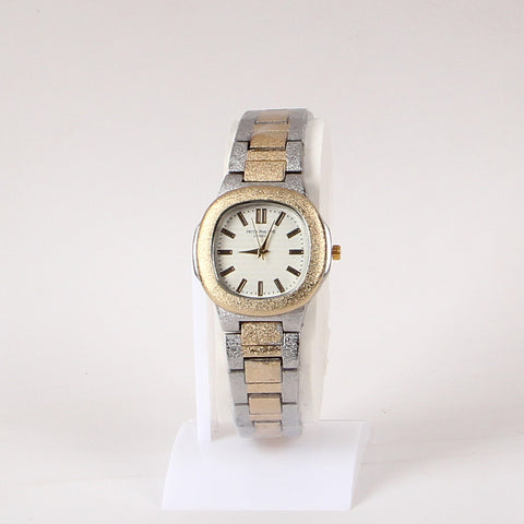 Golden And Silver Double Tone 1127 Wrist Watch