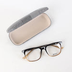 Brown Black Boss Rectangle Shape Eyeglasses