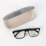 Black Rectangle Shape Eyeglasses
