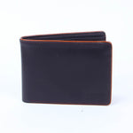 Slim Leather Wallet Black