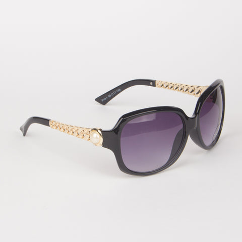 Chanel Black Sunglasses - Thebuyspot.com