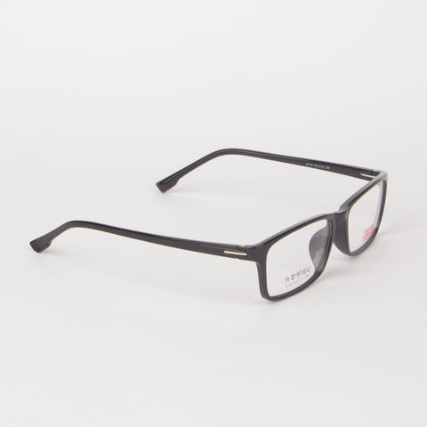 Black Rectangle Eye Glasses - Thebuyspot.com