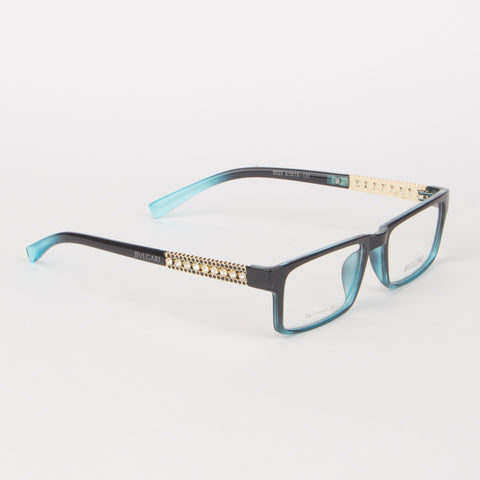 Bvlgari Blue And Black Gradient Eyeglasses - Thebuyspot.com