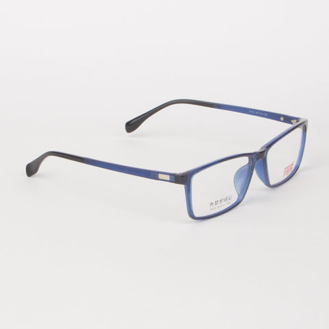 Blue And Black Gradient Eyeglasses For Unisex - Thebuyspot.com