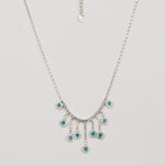 Green Gem Pendant With Long Tassel