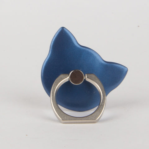 Blue Cat Phone Ring Holder Grip Mount Stand - Thebuyspot.com