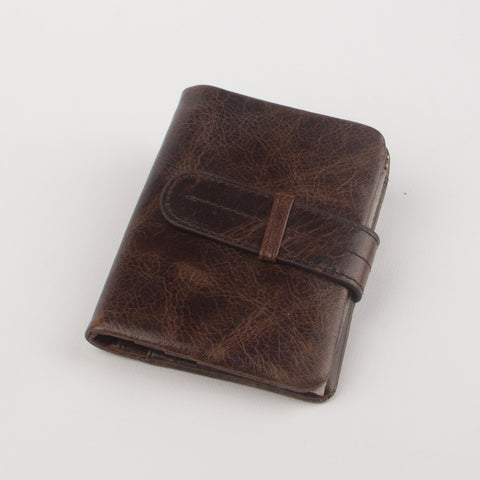 Vintage Brown Genuine Leather Wallet - Thebuyspot.com
