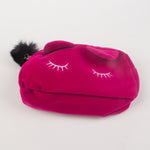 Pink Cat Cartoon Portable Cosmetic Bag