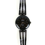 Metallic Black Chain Metallic Black Dial 1299 Women's Wrist Watch