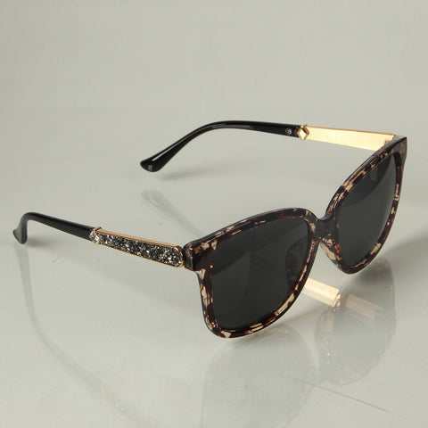 Multicolor Brown Shade Ladies Sunglasses - Thebuyspot.com