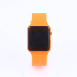 Orange LED Watch C1048 for Kids