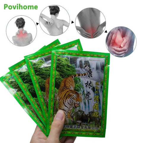 Pain Plaster Tiger Balm 8Pcs /Bag Body Pain Relaxation - Thebuyspot.com