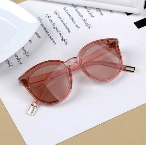 Pink Shade Transparent Sunglasses - Thebuyspot.com