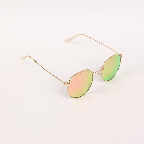 Pink shade LS3447 Round Sunglasses