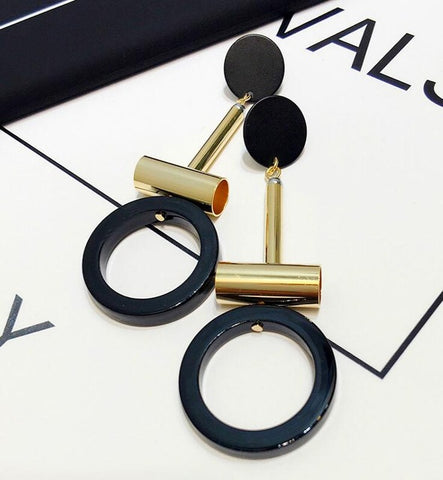 Round Tube Charming Earrings - Thebuyspot.com