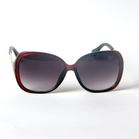 Wine Red Black Shade Sunglasses - Thebuyspot.com