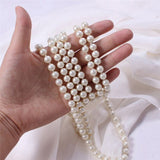 Women Simulated Pearl Beads Necklace - Thebuyspot.com
