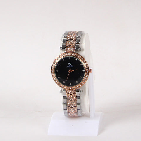 Women Double Tone 1125  Wrist Watch