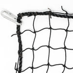 JFN Heavy Duty Cricket Outdoor Practice Cages with flap door, Black