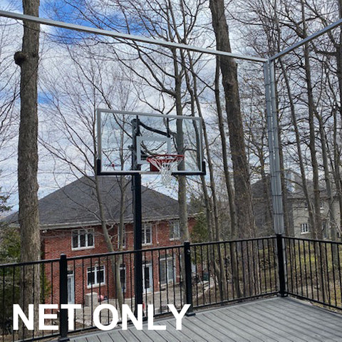 JFN #18 Nylon Basketball Court Net, Custom Size
