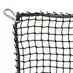 "JFN #18 3/4"" Mesh Golf Practice Cage/ Baseball Batting Cage, 10' H X 8' W X 63' L, Net Only"