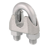 Malleable Cable Clamp, Qty: 2