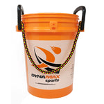 Dynamax Sports 5 Gallon Ball Bucket with Padded Seat Lid