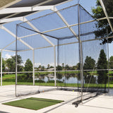 "JFN #18 3/4"" Mesh Golf Practice Cage,  Custom Size (Net Only)"