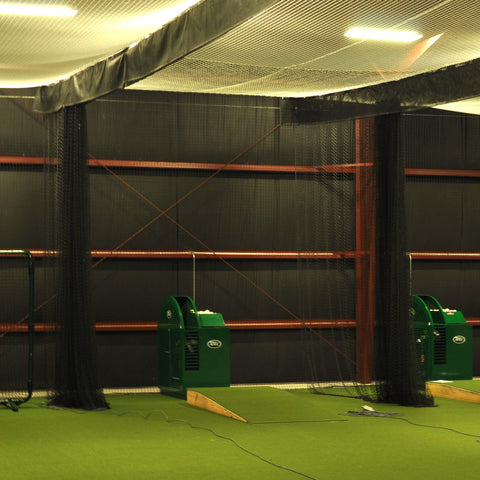 JFN Heavy Duty Batting Cage Divider Windscreen Baffle, Custom Size