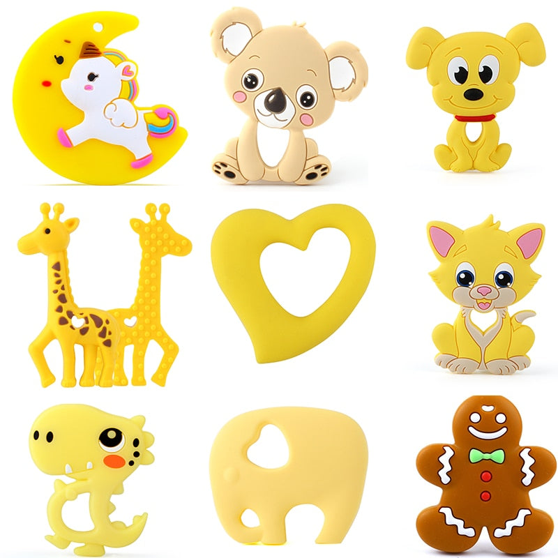 Animal Silicone Teethers